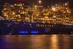 Opinión de la noche de Chongqing imagen de archivo