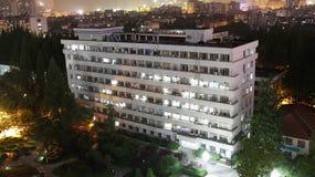 Opinión de la noche de la ciudad Fotografía de archivo