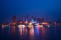 Opinión de la noche de la ciudad, chongqing, China Imagen de archivo libre de regalías
