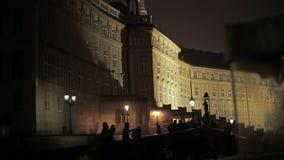 Opinión de la noche de Praga metrajes