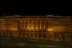 Opinión de la noche de un edificio en Sydney CBD Fotografía de archivo libre de regalías