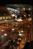 Opinión de la noche del centro de convención de San Diego Imagen de archivo
