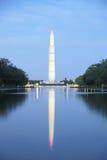 Opinión de la noche del Washington DC Fotografía de archivo libre de regalías