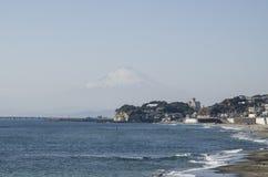 Opinión de la orilla de la ciudad foto de archivo