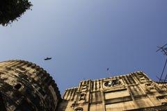 Opinión de la parte superior - fuerte de Bhadra Imagen de archivo