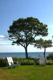 Opinión de la playa Imagen de archivo libre de regalías