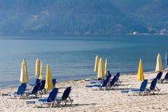 Opinión de la playa Imagenes de archivo