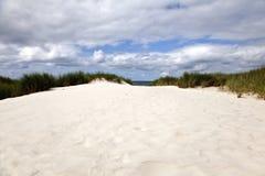 Opinión de la playa Imagen de archivo