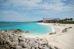 Opinión de la playa Foto de archivo libre de regalías
