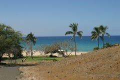 Opinión de la playa de la isla Foto de archivo