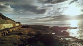 Opinión de la playa del océano Imagen de archivo libre de regalías