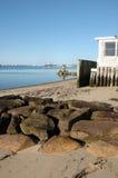 Opinión de la playa en Provincetown Imagenes de archivo