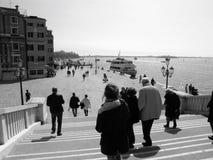 Opinión de la playa de Venecia fotografía de archivo libre de regalías