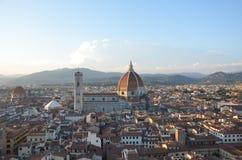 Santa María del Fiore Duomo - Florencia - Italia Fotografía de archivo libre de regalías