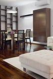 Opinión de la sala de estar Foto de archivo libre de regalías