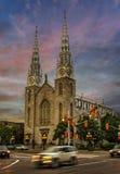 Opinión de la tarde de Ottawa Imagen de archivo libre de regalías
