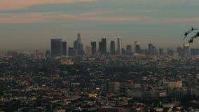 Opinión de la tarde de Los Ángeles céntrico metrajes