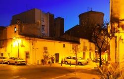 Opinión de la tarde Sant Adria de Besos cataluña Fotografía de archivo