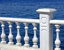 Opinión de la terraza imagen de archivo libre de regalías