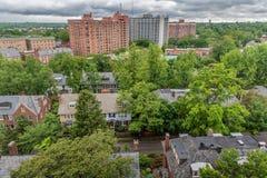 Opinión de la vecindad de Baltimore Imagenes de archivo