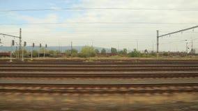 Opinión de la ventana del viaje de tren