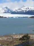 Opinión de la vertical de Perito Moreno Imagen de archivo