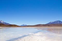 Opinión de Laguna Honda, Bolivia imágenes de archivo libres de regalías