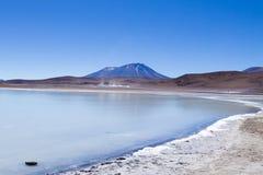 Opinión de Laguna Honda, Bolivia fotos de archivo