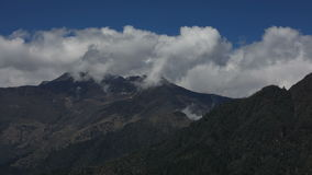 Opinión de lapso de tiempo de Annapurna almacen de video