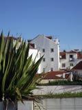 Opinión de Lisboa Imagen de archivo libre de regalías