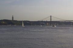 Opinión de Lisboa Imagen de archivo