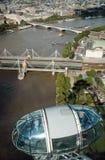 Opinión de Londres foto de archivo