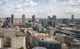 Opinión de Londres La ciudad de Londres uno de los centros principales de la opinión global de finance Imagenes de archivo
