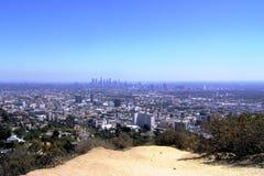 Opinión de Los Ángeles Fotos de archivo