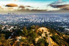 Opinión de Los Ángeles Imagen de archivo