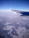 Opinión de los aviones Imagen de archivo libre de regalías