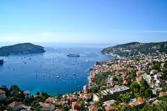 Opinión de Mónaco Imágenes de archivo libres de regalías
