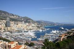Opinión de Mónaco fotos de archivo libres de regalías