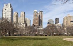 Opinión de Manhattan de Central Park Foto de archivo