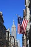 Opinión de Manhattan del Empire State Building Imágenes de archivo libres de regalías