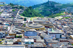 Opinión de Manizales, Colombia Imagenes de archivo