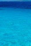 Opinión de mar del Caribe en paraíso Imagen de archivo