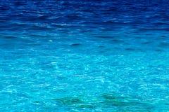 Opinión de mar del Caribe en paraíso Fotos de archivo
