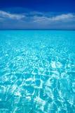 Opinión de mar del Caribe en paraíso Foto de archivo