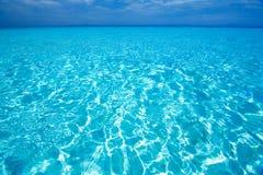 Opinión de mar del Caribe en paraíso Fotos de archivo libres de regalías