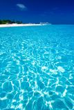 Opinión de mar del Caribe en paraíso Imagen de archivo libre de regalías