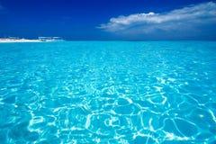 Opinión de mar del Caribe en paraíso Fotografía de archivo