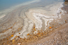 Opinión de mar muerto Foto de archivo libre de regalías