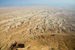 Opinión de mar muerto imágenes de archivo libres de regalías