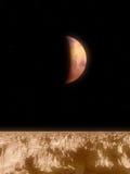 Opinión de Marte Fotografía de archivo libre de regalías